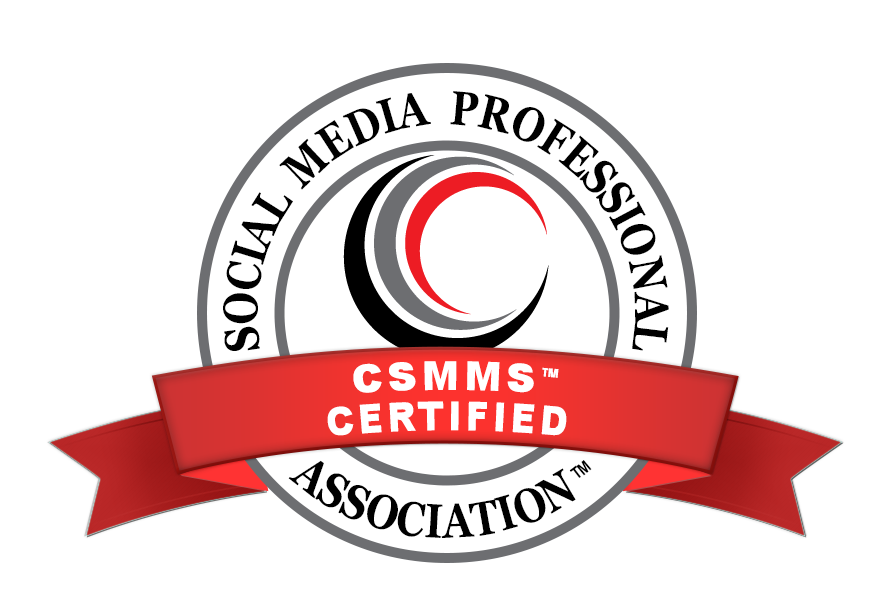 Certification in Social Media Marketing Seal
